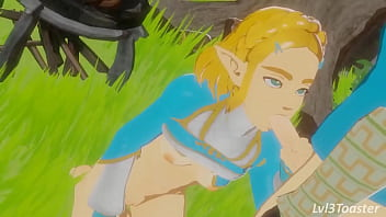 Zelda Fucked and Facialized