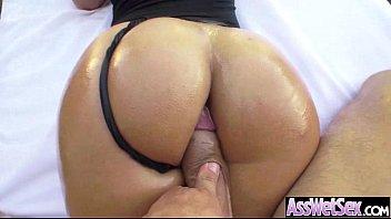 Big Butt Oiled Girl (kelsi monroe) Get Anal Hardcore Sex On Camera movie-18