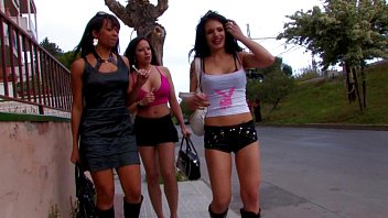 Gigi Love & Nina Roberts & Dunia Montenegro hot lesbian threesome