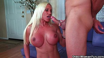 Older adult swing Big clit milf ashlee chambers gets creamed