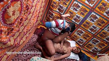 Indian Bhabhi Takes Nephew's Virginity Impregnates Aunt Real Home Fucking