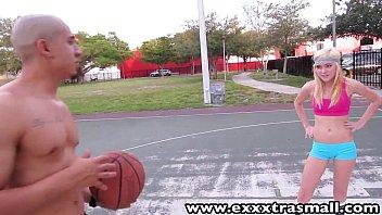 ExxxtraSmall Young petite Chloe Foster sucks fucks big dick