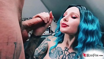 Perfect Girl Passionate Sucking Big Dick Lover - Cum in Mouth صورة