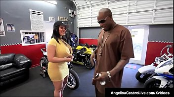 Cubana BBW Angelina Castro Fucks A Big Black Cock!