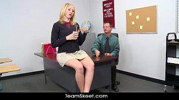 Innocenthigh Tracy Sweet Blonde School Girl Teen Hardcore Prof Sex