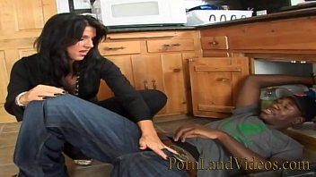 young black plumber fucking sexy house wife Mandy