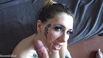 Young brunette Stasya is caught masturbating