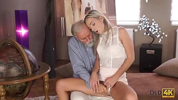 OLD4K. Lovely lassie Shanie Ryan s. with teacher after graduating college