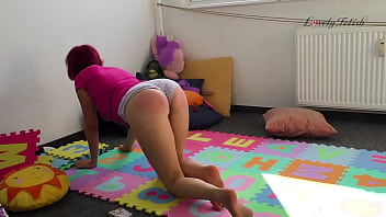 Panty spank clips Clip 47ri playing with step-daddy - full version sale: 14