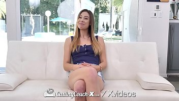 CASTINGCOUCH-X Car Foreplay Gets The Pussy Soaking Wet