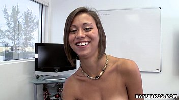 Mia lina bikini - Super cute latina comes in for casting call