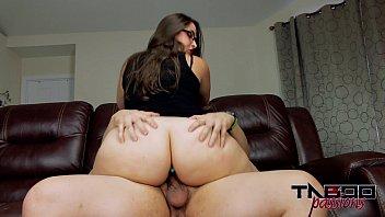 Big Ass MILF Madisin Lee fucks young cock with Butt plug