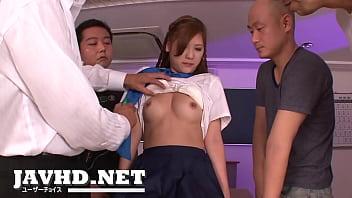 Schoolgirl Yura Kasumi is a hot japanese cum girl thumbnail