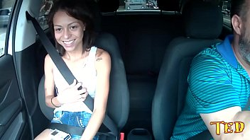 Polly Petrova and the Brazilian Ninfeta most naughty of the last days and ready several in the car 3 min