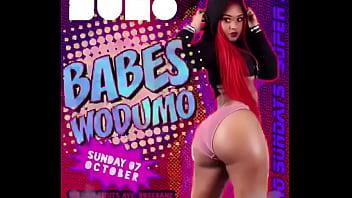 Famous Babes Wodumo , Ebony Black Ass #1
