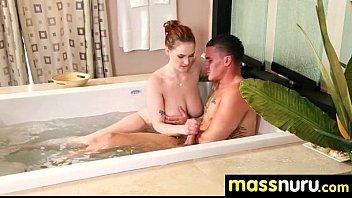 Naughty chick gives an amazing Japanese massage 3