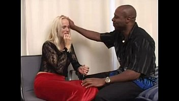 Blonde aryan goddess defiled by black seed