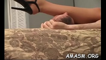 Adorable chick gets her poon tang licked