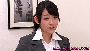 Mature office babe - Innocent asian babe licking classy mature box