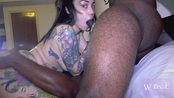 Mixed Puerto Rican Brooklyn Love getting Fucked by 2 BBCs 32分钟