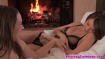 Pretty lesbian couple licking pussy 8 min