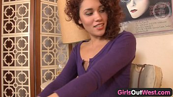 Girls Out West - Curly amateur anal orgasm