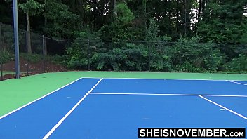 13335 Tiny Ebony Tennis Player Rough Missionary Sex After Lost Match , Msnovember Big Boobs Riding Stranger After Losing Bet On HD Sheisnovember preview