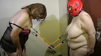 05-Aug-2015 Sissy Seffie and Slut Slave Nipple Torture (Sklavinnen/SklavinSklave/slave)