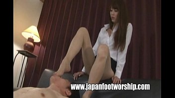 Foot Fetish Japanese Girl