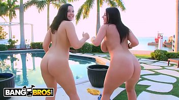 BANGBROS - Emma Heart &amp_ Sophie Dee Shaking Their Big Asses