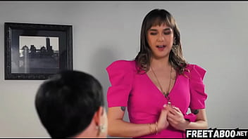 Boss Demands Her Personal Assistant To Fuck Her Husband While She Just Sit And Watch! - Full Movie On FreeTaboo.Net