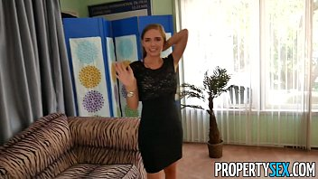 PropertySex - Hot petite real estate agent makes hardcore sex video with client