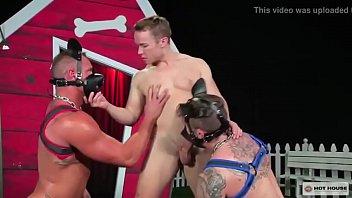Gay dog blowjob video - Stud gabriel cross getting a good fucking