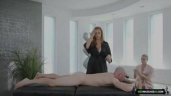 masseuse's threesome