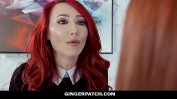 GingerPatch - Redhead Step Daughter and Stepmom Fuck Each Other thumbnail