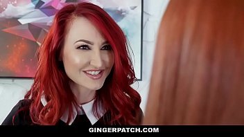 GingerPatch - Redhead Step Daughter (Krystal Orchid) and Stepmom (Kendra James) Fuck Each Other