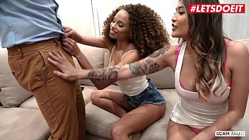 Nude lion - Letsdoeit - cheating husband bangs on his house with an ebony girl and her bff cecilia lion brenna sparks