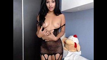 [Adultcamster.com] Hot latina babe teasing on webcam