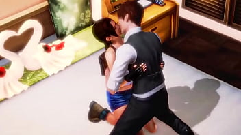 Lara croft tomb raider cosplay game girl hentai having sex with a man in sexy hentai porn video