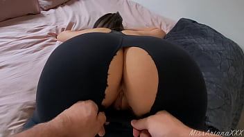 Stepsister can't Resist my Cock after Gym! - CREAMPIE