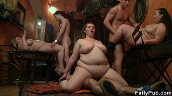 Fat bitch spreads her legs for hard rod