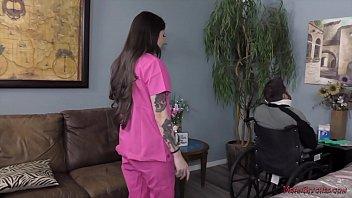 Mean, Sadistic Nurse - Vanessa Vega - Femdom