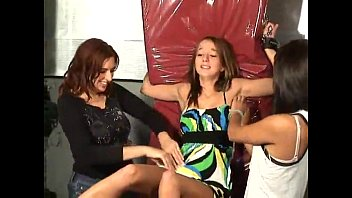 Upskirt tickling - Tickling emma