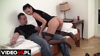 Polish porn - Footjob made in Poland