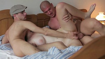 BIG COCK THREESOME WITH COUNTRY GIRL