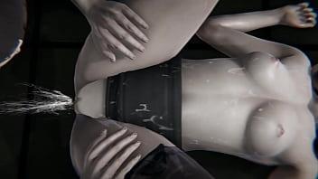 Bioshock - Elizabeth gets creampied - 3D Porn
