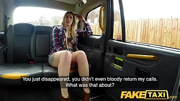 Fake Taxi Ava Austen in hot horny cab fuck to get her job back