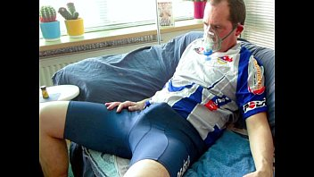 Top gay lycra Lycra, estim and poppers happy estimming