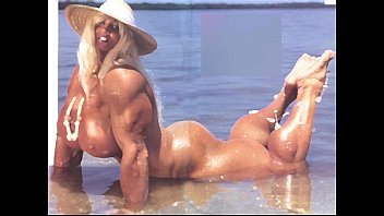 Female bodybuilding fbb bodybuilder bbw muscle art