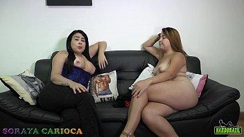 Soraya Carioca sofa test with the magnificent Tais Daeva
